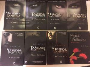 Livros Diarios Do Vampiro