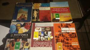 Livros Ensino médio - História, Filosofia, Sociologia e
