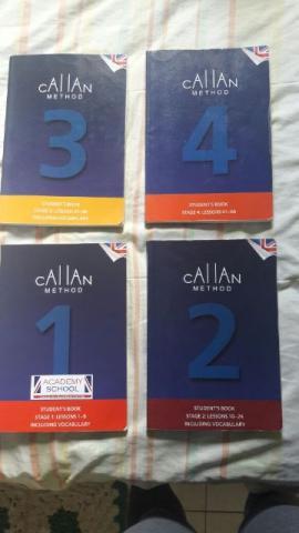 Livros do Callan 1/2/3/4