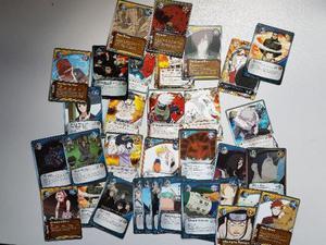 Lote De 110 Cartas Naruto Card Game
