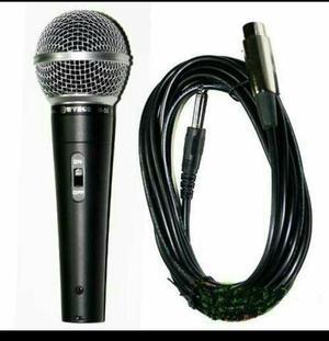 Microfone Profissional Dynamic com fio (Entrega Grátis)