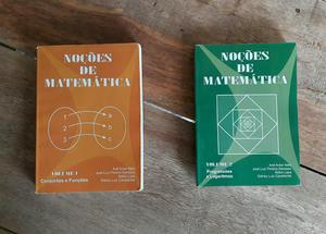 Noções de Matemática Vol 1 e 2 - Conjunto e Funções -