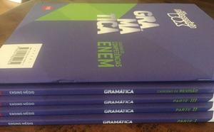 Novo Ser Protagonista Box Gramática Ensino Médio