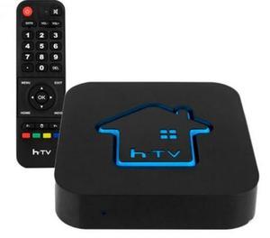 Receptor HTV 5 box 4k sem antena. VIP