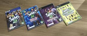 The sims 2 + 3 pacotes de expansão