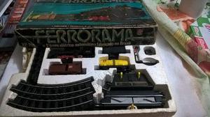Trem trenzinho ferrorama xp-200 estrela anos 80 funcionando