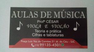 AULAS DE VIOLÃO E VIOLA- SJCAMPOS (zona sul)