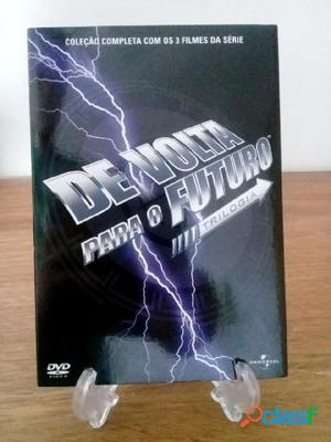 Dvd Trilogia De Volta para o Futuro (1985 1989 1990)