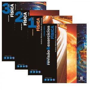 Fisica didáticos de ensino médio parte 1,2,3 e caderno de