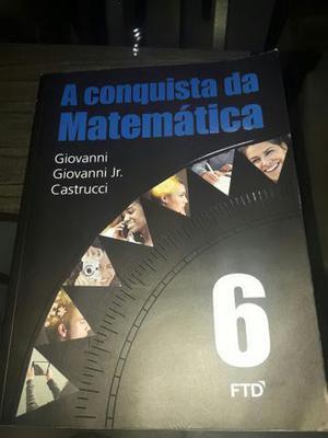 Livro A conquista da Matemática 6