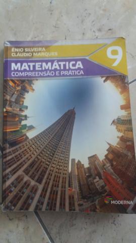 Livro de Matemática Compreensão e Prática 9°Ano