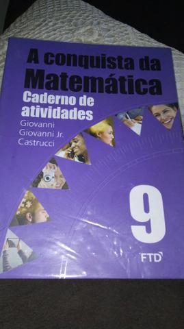 Livro de atividade de matematica 9 ano