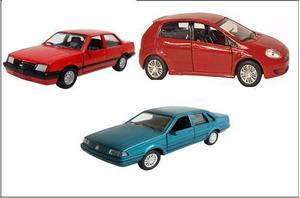 Lote miniaturas de carros para coleção