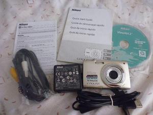 Maq Fotográfica Nikon Coolpix S2500 Completa