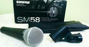 Microfone Profissional Shure SM58 LC Legendary Performance