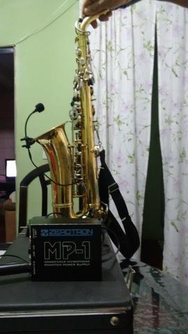 Microfone com fio para instrumento de sopro R$