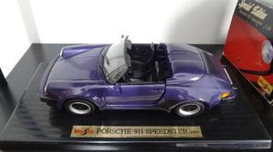 Porsche 911 Speedster (1989) Escala 1:18 - Maisto