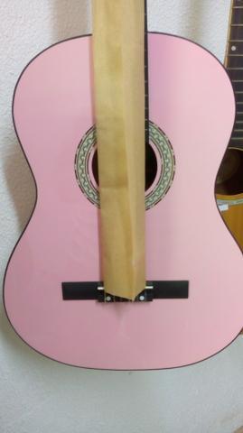 Violão acústico kuati rosa