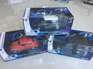 3 carros Maisto Special Edition Colecionáveis 1:24