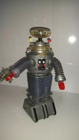 Boneco Antigo Robô B9 Perdidos No Espaço  Trendmasters