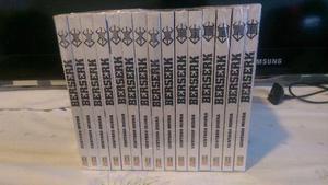 Coleção Berserk 1 ao 15 - Edição de Luxo Panini Mangás
