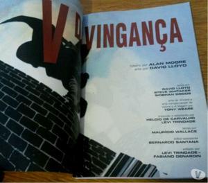 HQ – V de Vingança – Vertigo Alan Moore e David Lloyd