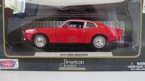 Miniatura Ford Maverick 1:24 Vermelha Motormax