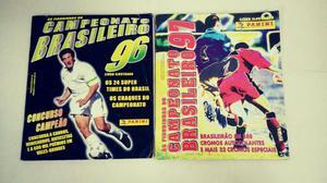 Álbum figurinhas campeonato brasileiro 96 e 97 - completo