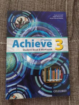 Achieve Student Book & Workbook - 2nd edition - level 3