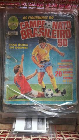 Album figurinhas brasileiro 1990