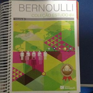 Apostilas do curso Bernoulli para o Enem (melhor curso de