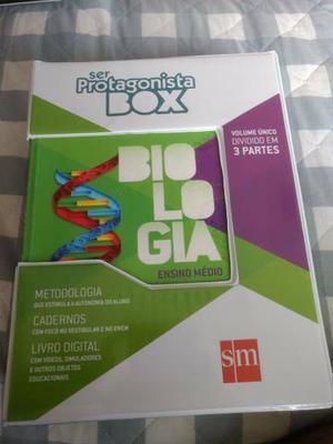Box Completo Ser Protagonista Biologia