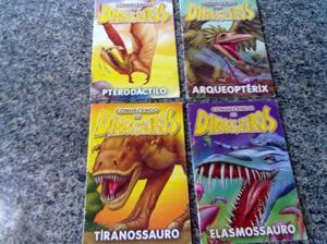 Combo de livrinhos conhecendo os dinossauros ano 2007