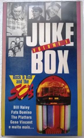 Fita Vhs Juke Box Vol.1 e Vol 2 - Rock & Roll And The 50's