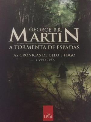 Livro Game of Thrones - A tormenta de espadas (livro 3)