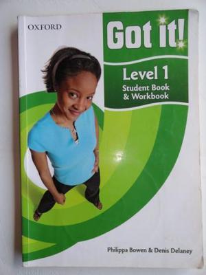Livro Got It Level 1 - Student Book & Worbook, Usado em Bom