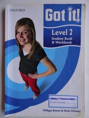 Livro Got It Level 2 - Student Book & Worbook, Usado em Bom