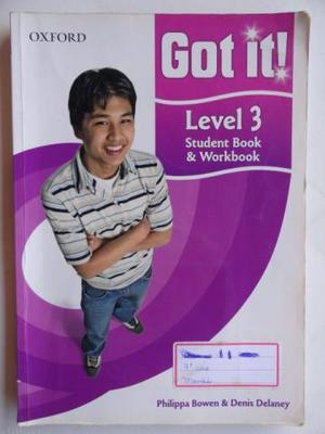 Livro Got It Level 3 - Student Book & Worbook + CD-ROM,