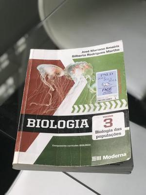 Livro de Biologia Amabis e Martho