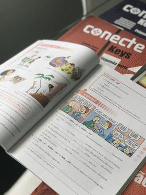 Livro de inglês Conecte