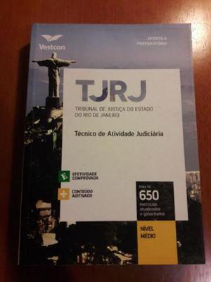 Livro para concurso TJRJ - vestcom