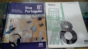 Livros Escolares 8º e 9º ano