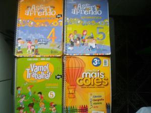 Livros Semi Novos 3* 4* 5* serie assim aprendendo/mais cores