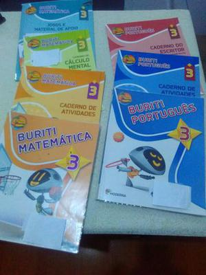 Livros usados Moderna Buriti 3 ano