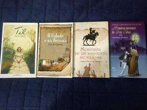 Obras Literárias - Livros p/ Vestibular (Novos)