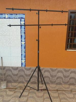 Pedestal tripé para iluminação dj