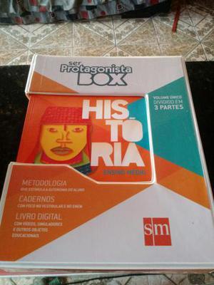 Ser Protagonista Box - História (1° edição 2014)