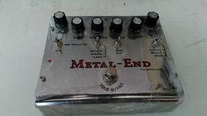 Vendo esse pedal de drive metal-end simulador amplificador