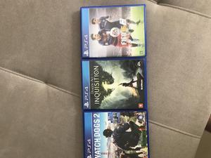 3 jogos ps4 por 150 reais