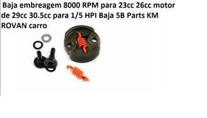 Automodelo Baja Embreagem rpm